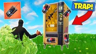 Vending Machine C4 *TROLL* In Fortnite Battle Royale!