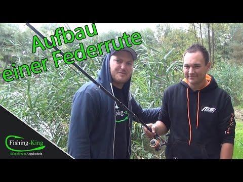 Aufbau einer Feederrute - Tutorial mit dem Feederweltmeister Felix Scheuermann | Fishing-King.de