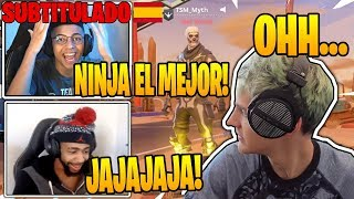 Myth y Daequan se *BURLAN* DE LOS FANS DE NINJA EN FORTNITE!! - Momentos Divertidos en Fortnite