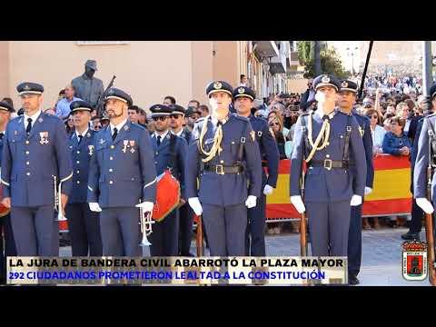 Jura de Bandera Civil en Yecla
