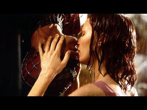 Upside-Down Kiss Scene - Spider-Man (2002) Movie CLIP HD