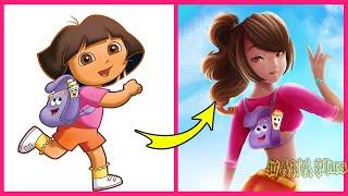 Cartoon Characters Grown Up   WANA Plus