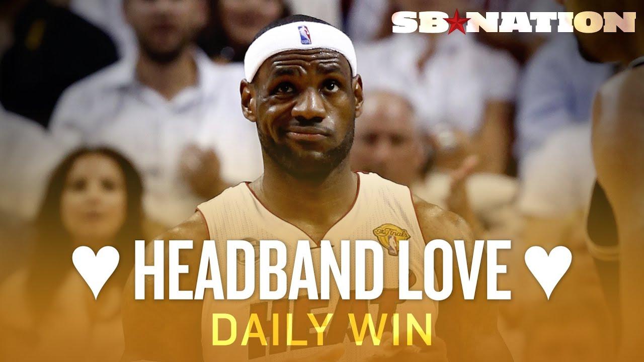 LeBron's Headband, NBA Finals Game 7, Best Sports Headbands Ever (Daily Win) thumbnail