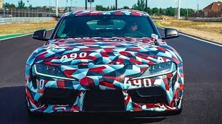 Ищем БМВ в новой Toyota Supra.