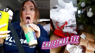 moving, regretting youtube, and christmas eve!! vlogmas day 24 by Alisha Marie Vlogs