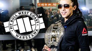 JOANNA JĘDRZEJCZYK - powrót do Polski po kolejnej obronie pasa UFC! (RELACJA)
