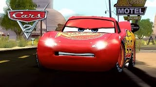 Тачки Молния Маквин - Lightning McQueen Cars Race (English) Gameplay