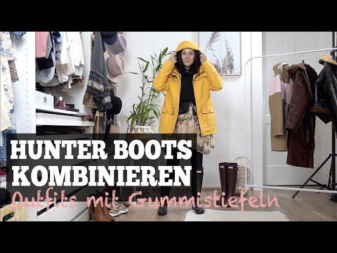 Hunter Boots kombinieren - so stylen wir Outfits mit Gummistiefeln |Julies Dresscode