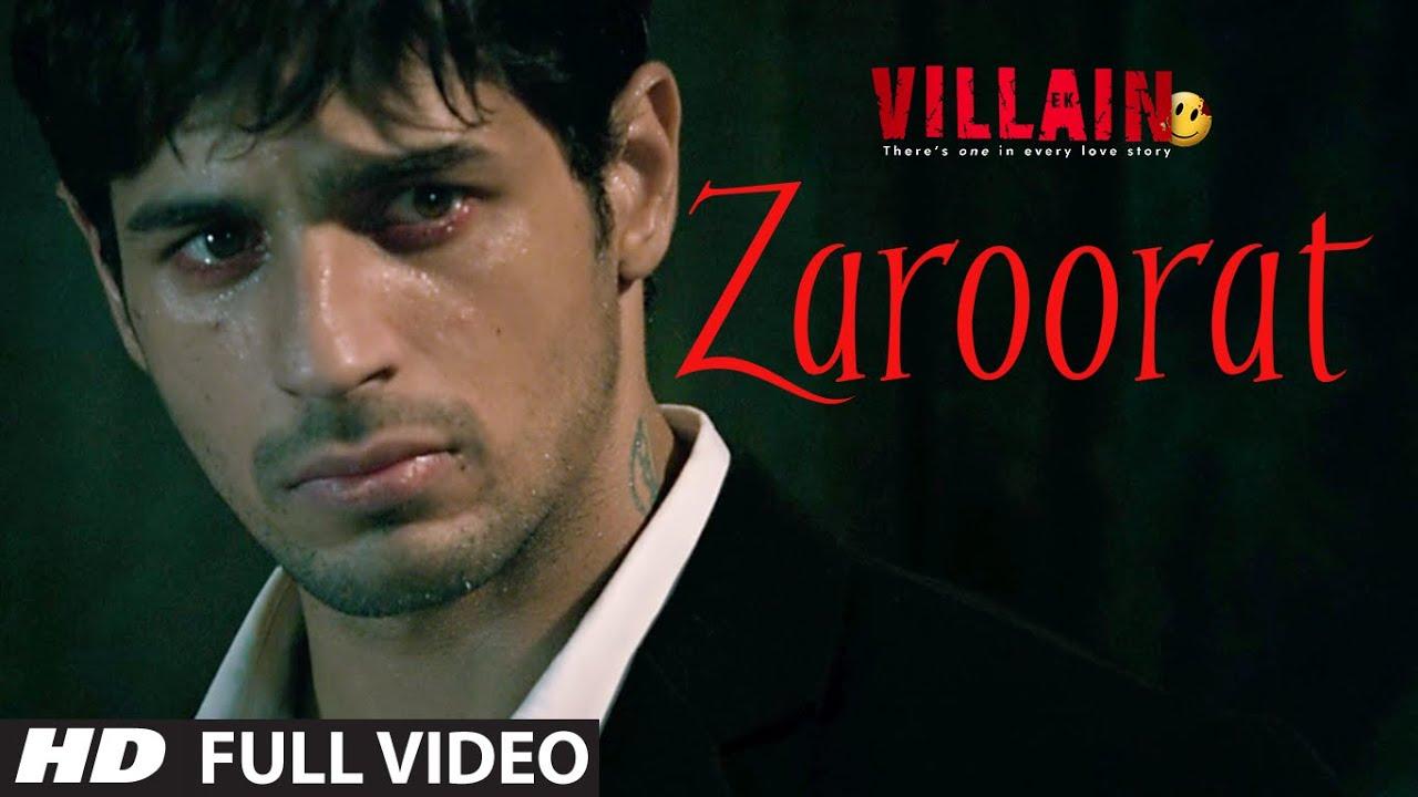 Zaroorat Full Video Song | Ek Villain | Mithoon | Mustafa Zahid  downoad full Hd Video