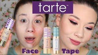 NEW Tarte FACE TAPE on ACNE!!!