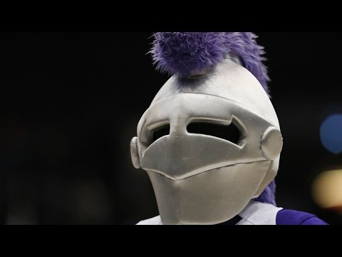 Holy Cross Mascot Video Bombs Announcers | CampusInsiders