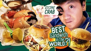 Miami STONE CRAB & BEST SANDWICH in The WORLD in Las Vegas