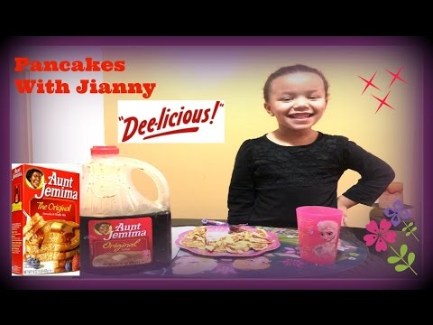 Aunt Jemima Pancakes - How to prepare pancakes with Jianny!