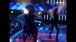 Wisin & Yandel y Prince Royce Algo Me Gusta De Ti La Voz Mexico