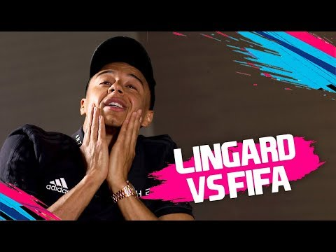 Jesse Lingard is FURIOUS with his strength on FIFA! | Jesse Lingard vs FIFA 19 🔥🔥🔥