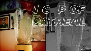 Oatmeal Midnight Smoothie - Video Youtube