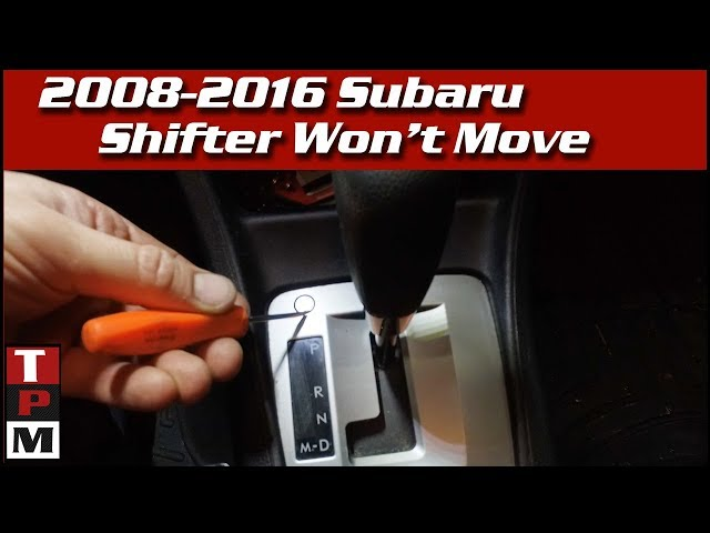 Brake Light Switch Defect - Subaru Problems