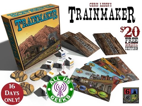 All Us Geeks Initial Impressions: Trainmaker