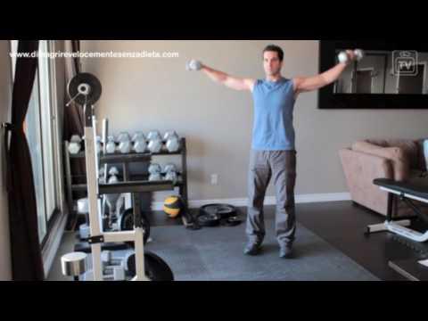 Esercizi per perdita di peso di disposizione di natiche