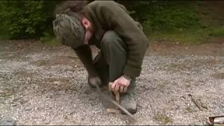 Primitive Bushcraft - Making Pine Glue | Self Reliance