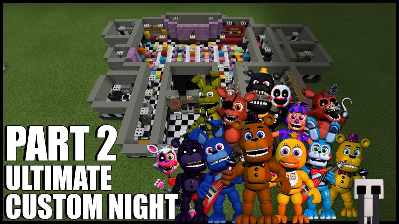 Download How To Build FNAF Ultimate Custom Night In Minecra