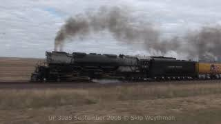 Union Pacific 3985 West To Wyoming