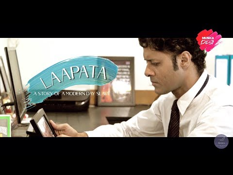 Laapata a music video as Main Lead Actor