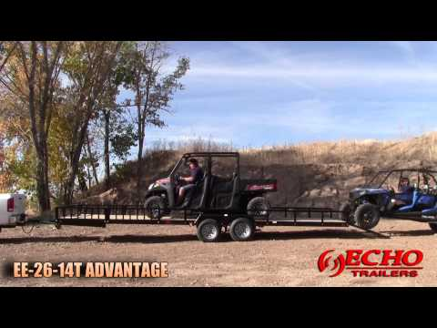 2020 Echo Trailers Advantage Tandem Axle ERA-17-14T in Ukiah, California - Video 1