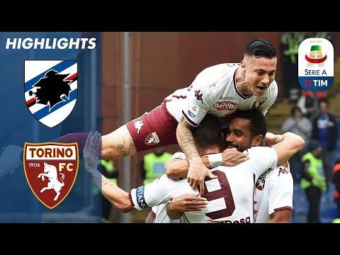 Sampdoria 1-4 Torino   Torino Put Four Past Hosts Sampdoria   Serie A