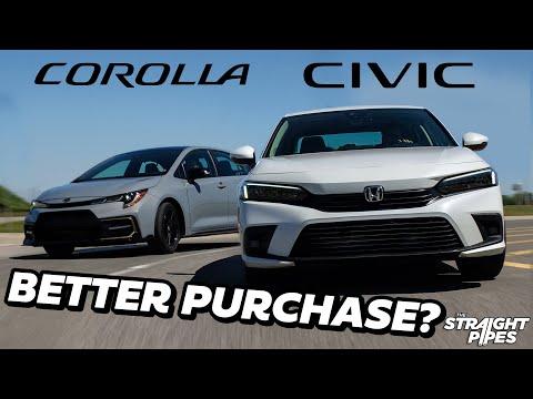 PERFECT! 2022 Honda Civic Vs Toyota Corolla Review