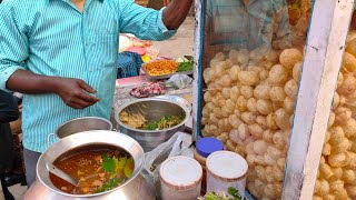 Indian Famous Street Food PANIPURI (GOLGAPPA) || Indian street food Kolkata