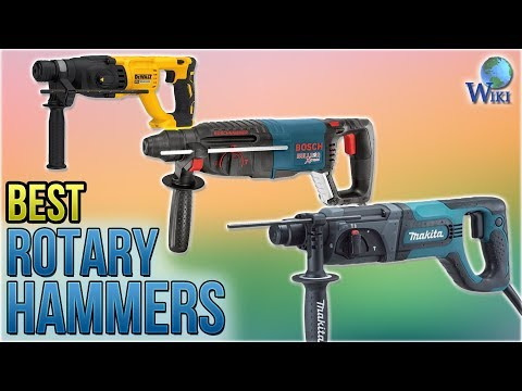 10 Best Rotary Hammers 2018