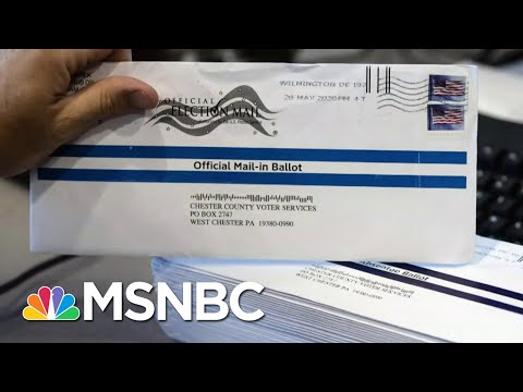 Trump Stokes Fears Of Mail-In Voting Fraud While Telling Floridians To Vote By Mail | MSNBC