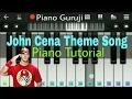 WWE John Cena Theme Song Piano Lessons T