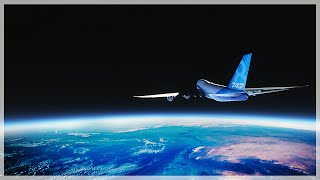 Flying To Outer Space In A Boeing 747 - Mt Everest And Beyond! - Microsoft Flight Simulator