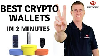 Best Cryptocurrency Wallets of 2021 (in 2 minutes)