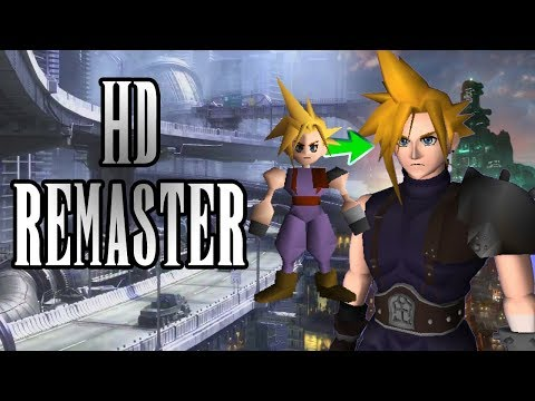 FF7 HD Remaster: Make Final Fantasy VII Look better than you've ever seen it