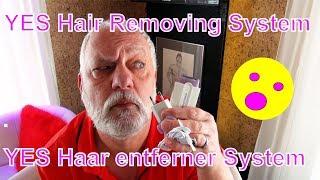 YES Haarentferner - YES Touch Hair Remover - Einfach Schön