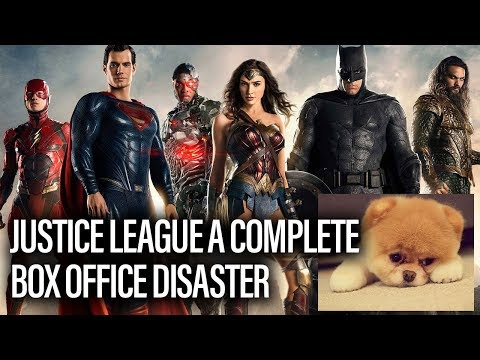 JUSTICE LEAGUE A Box Office Disaster – Box Office Report
