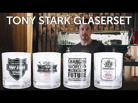 Marvel: Stark Industries Gläserset