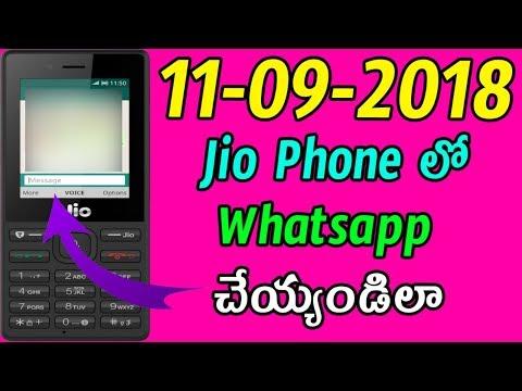 jio phone whatsapp install download telugu