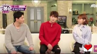 Park Seo Joon And Nam Joo Hyuk Ask Hilarious Questions To Their Friends Park Hyung Sik