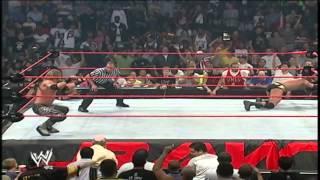 Edge Vs. Randy Orton - Raw 06/19/2004 - Highlights HD