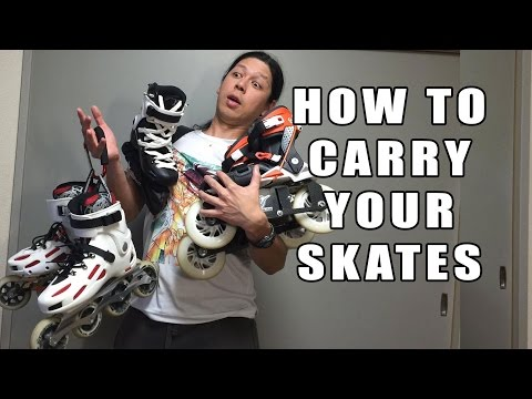 How to carry your skates - ThundrThursday 10