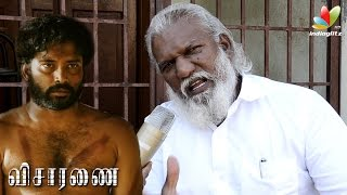 Visaranai  Writer: Censor board tried to force cuts in Movie | Auto Driver Chandrakumar  | Lock up
