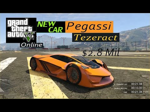 GTAV Online - Pegassi Tezeract 2.8Mil ***{[NEW CAR]}***