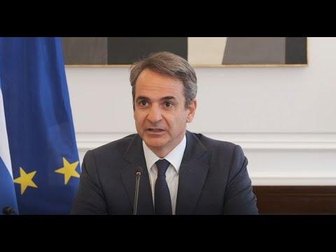 Υπουργ. Συμβούλιο Με αναφορά στον θάνατο του Μ. Θεοδωράκη ξεκίνησε την τοποθέτησή του ο πρωθυπουργός