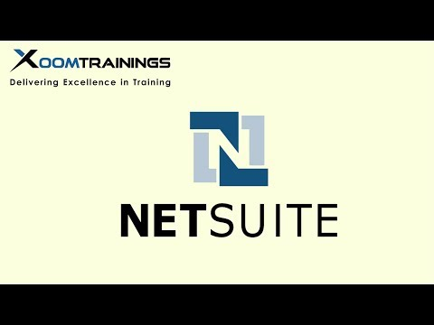 Netsuite online training | Netsuite tutorial for beginners - YouTube