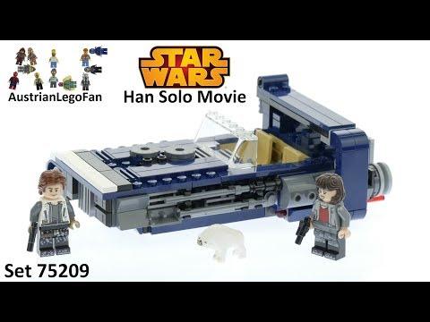 Vidéo LEGO Star Wars 75209 : Le Landspeeder de Han Solo