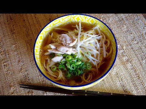 Chicken Ramen Recipe – Japanese Cooking 101